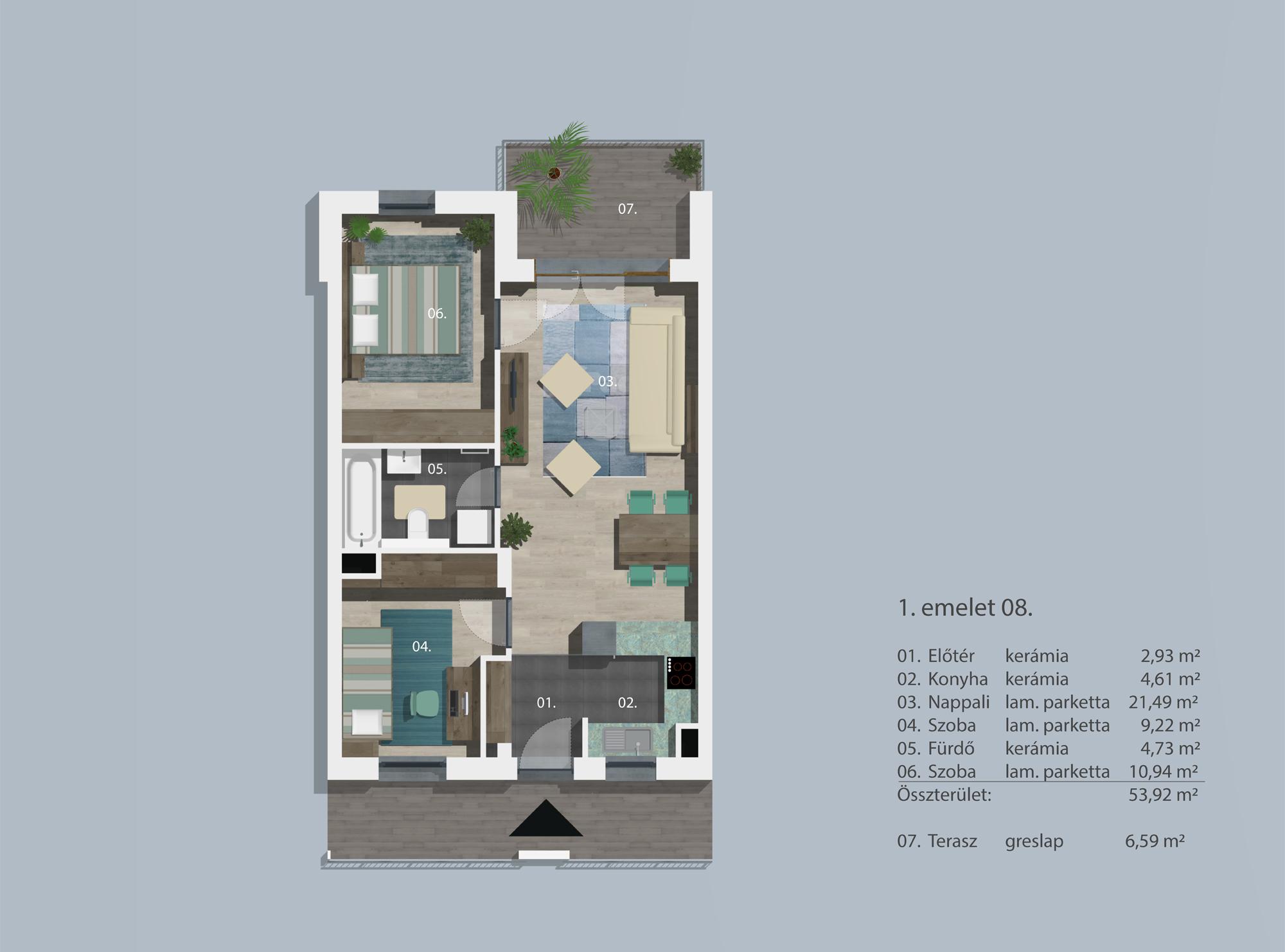 Kucsma 12 – I. emelet 8
