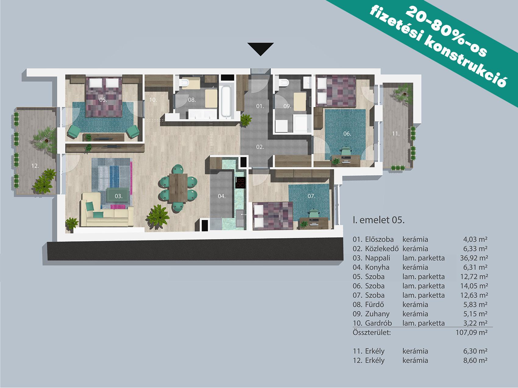 Kucsma 14 – I. emelet 5