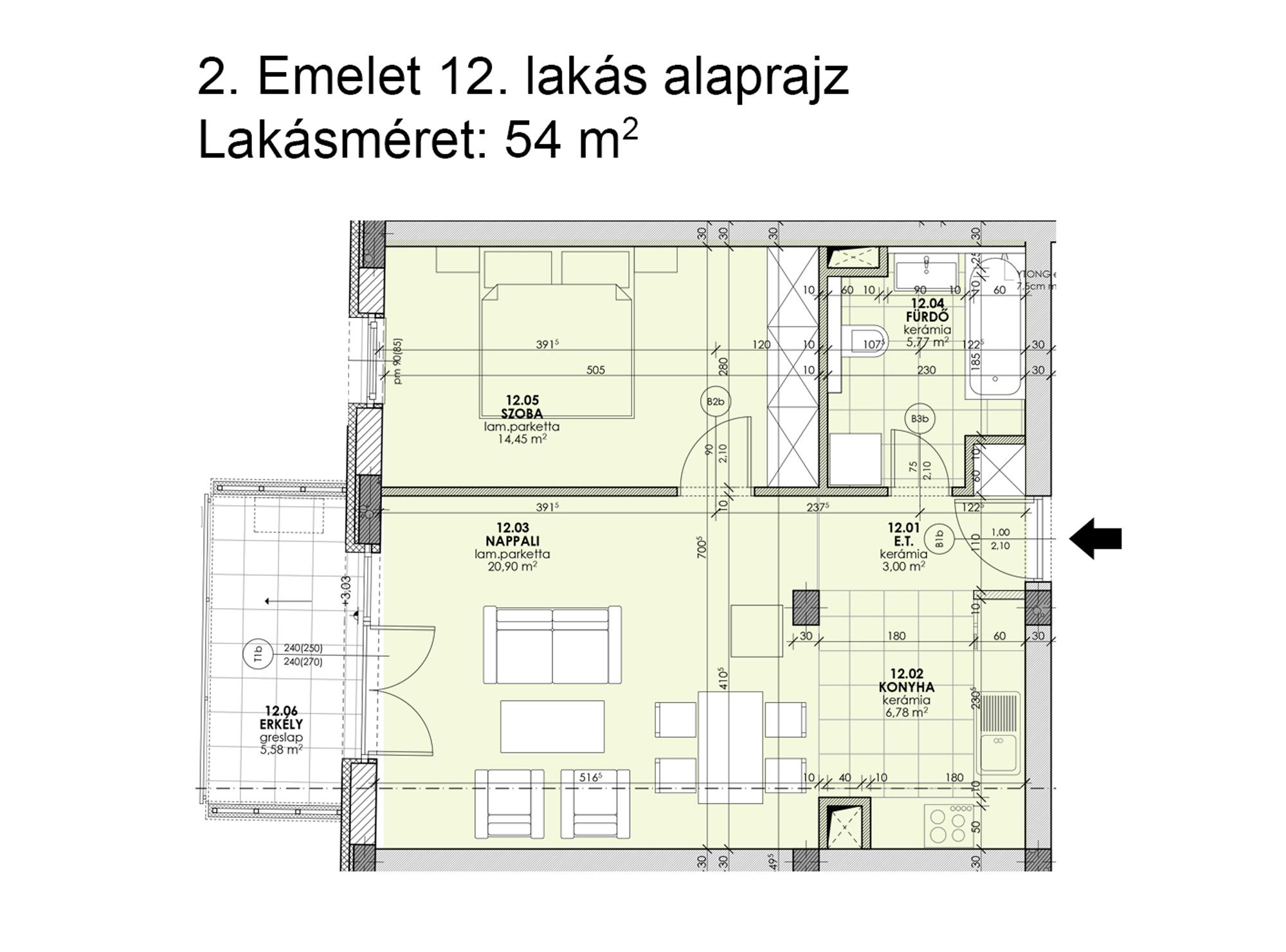 Kucsma 12 – II. emelet 12