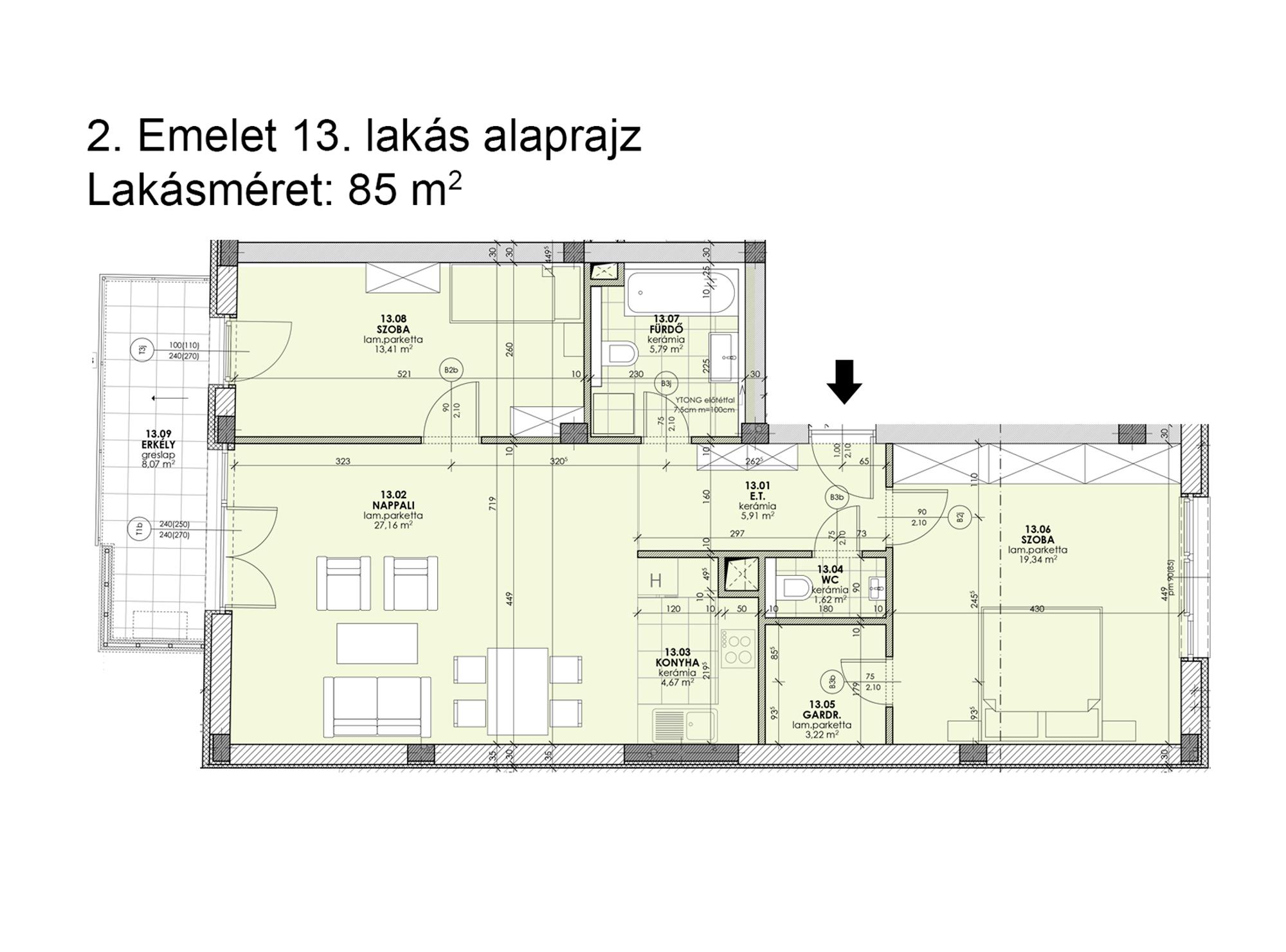 Kucsma 12 – II. emelet 13