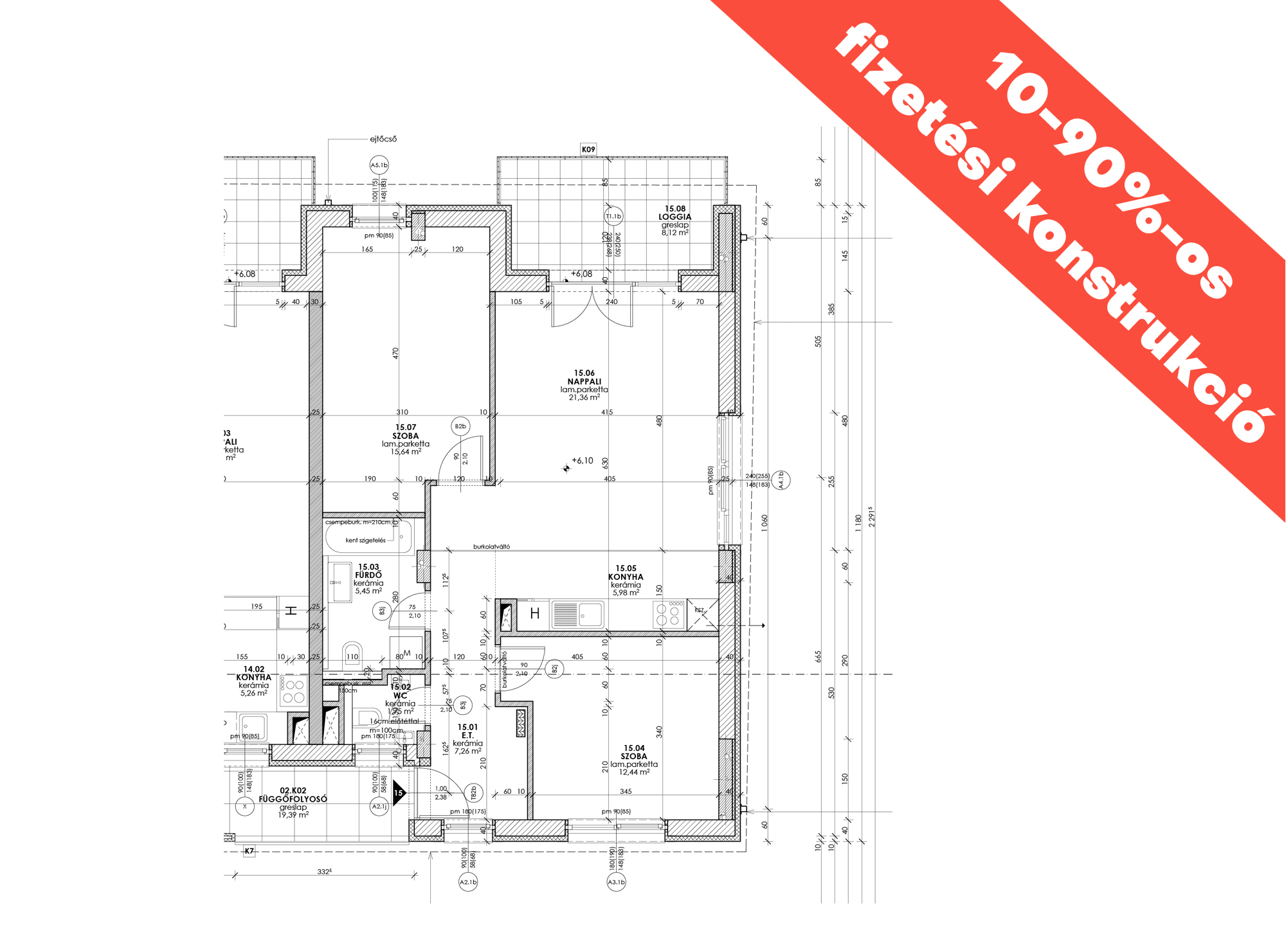 Kucsma 12 – II. emelet 15