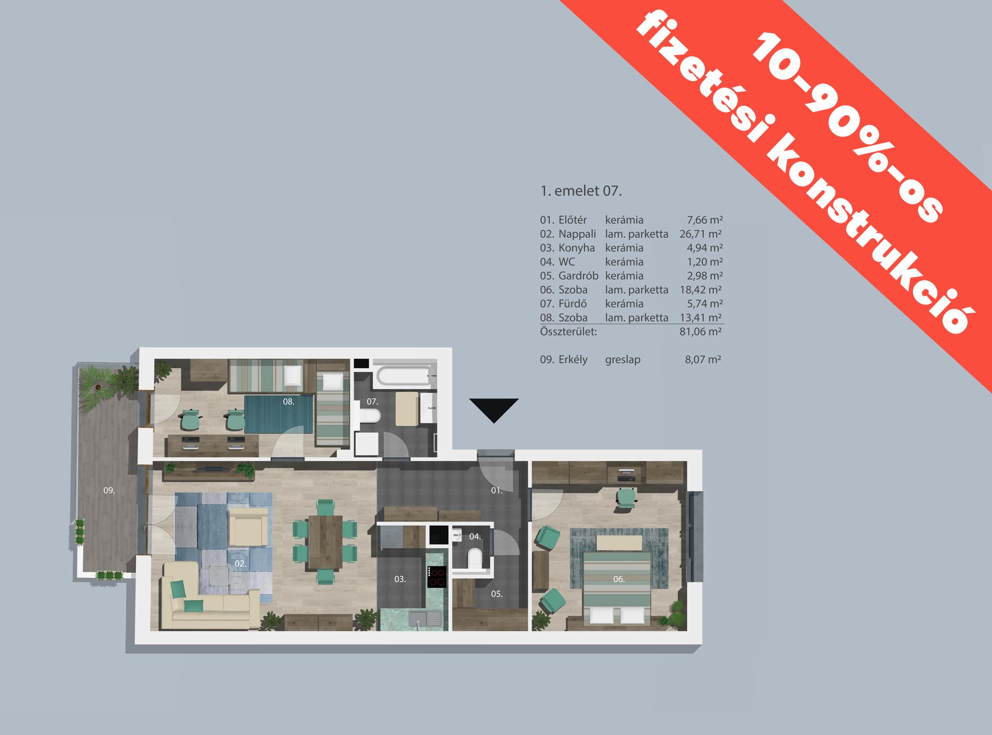 Kucsma 12 – I. emelet 7